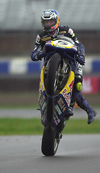 Sean Emmett Reve Red Bull Ducati, British Superbike Championship Round 12 Rockingham Raceway 30th September 2001