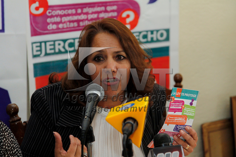 TOLUCA, México.- Ruth Miranda Herrera, dirigente local de la Red por los Derechos Sexuales y Reproductivos en el Estado de México (DDESER) se pronuncio a favor de despenalizar el aborto, y evitar muertes maternas, afirmó que entre el 2000 y 2006 se registraron mil 390 muertes maternas, 101 de ellas por abortos. Agencia MVT / Crisanta Espinosa. (DIGITAL)