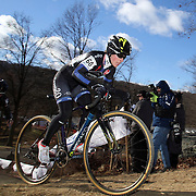 Arley Kemmerer in action during the Cyclo-Cross, Supercross Cup 2013 UCI Weekend at the Anthony Wayne Recreation Area, Stony Point, New York. USA. 24th November 2013. Photo Tim Clayton