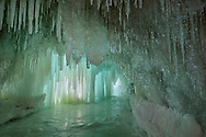 A fantasy-like Ice Cave on Grand Island,<br />