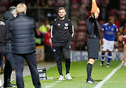 Interim Manager of Oldham Athletic Ritchie Wellens during the EFL Sky Bet League 1 match between Bradford City and Oldham Athletic at the Northern Commercials Stadium, Bradford, England on 17 October 2017. Photo by Paul Thompson.