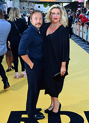 Stephen Graham (left) and Hannah Walters attending the Yardie premiere at the BFI Southbank in London. PRESS ASSOCIATION Photo. Picture date: Tuesday August 21, 2018. See PA story SHOWBIZ Yardie. Photo credit should read: Ian West/PA Wire