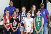 Mark Davis Basketball Camp award Winners