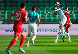 Nejc Skubic of Slovenia vs Andre Schembri of Malta during football match between National teams of Slovenia and Malta in Round #6 of FIFA World Cup Russia 2018 qualifications in Group F, on June 10, 2017 in SRC Stozice, Ljubljana, Slovenia. Photo by Vid Ponikvar / Sportida