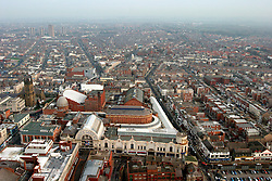 UK ENGLAND LANCASHIRE BLACKPOOL 1DEC04 - Aerial view of Blackpool Winter Gardens, one of the proposed sites for the 'Super-Casinos' to be built following the passing of the UK Government's controversial Gambling Bill.....jre/Photo by Jiri Rezac....© Jiri Rezac 2004....Contact: +44 (0) 7050 110 417..Mobile:  +44 (0) 7801 337 683..Office:  +44 (0) 20 8968 9635....Email:   jiri@jirirezac.com..Web:    www.jirirezac.com....© All images Jiri Rezac 2004 - All rights reserved.
