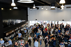 Pre match in the Bristol Sports Sport Bar and Grill - Mandatory byline: Rogan Thomson/JMP - 07966 386802 - 04/10/2015 - RUGBY UNION - Ashton Gate Stadium - Bristol, England - Bristol Rugby v Rotherham Titans - Greene King IPA Championship.