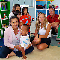 Orphanage Built by Rotarians from Tsunami Donations in Phuket, Thailand <br />