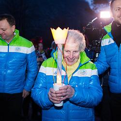 20180110: SLO, Events - Prihod Olimpijske bakle v Mojstrano