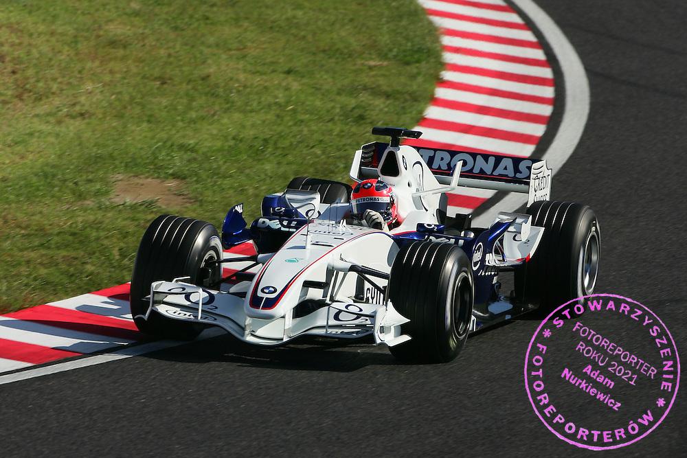 07.10.2006 Suzuka, Japan, ..Robert Kubica (POL), BMW Sauber F1 Team, F1.06 - Formula 1 World Championship, Rd 17, Japanese Grand Prix, Saturday Qualifying ..FOT. XPB.CC / WROFOTO..*** POLAND ONLY !!! ***