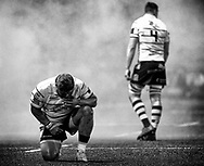 Nick Williams of Cardiff Blues before kick off<br /> <br /> Photographer Simon King/Replay Images<br /> <br /> Guinness PRO14 Round 15 - Cardiff Blues v Glasgow Warriors - Saturday 16th February 2019 - Cardiff Arms Park - Cardiff<br /> <br /> World Copyright © Replay Images . All rights reserved. info@replayimages.co.uk - http://replayimages.co.uk