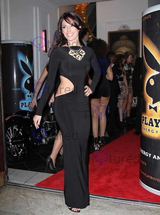 Kelly Brook Playboy Energy Drink UK Launch Party, Funky Buddha, Mayfair, London, UK, 18 November 2010: piQtured Sales: Ian@Piqtured.com +44(0)791 626 2580 (picture by Richard Goldschmidt)