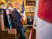 01 JANUARY 2020 - CRESTON, IOWA: US Senator CORY BOOKER (D-NJ) speaks during a campaign event at Adams Street Espresso in Creston, IA. Sen. Booker is campaigning in Iowa to support his candidacy for the US Presidency. Iowa traditionally holds the first event of the presidential election cycle. The Iowa caucuses are Feb. 3, 2020.     PHOTO BY JACK KURTZ
