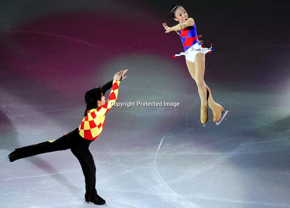 Dec 12, 2010; Beijing, CHINA; performs during ISU Grand Prix and Junior Grand Prix Final at Beijing Capital Gymnasium.