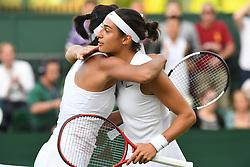 July 1, 2019 - Londres, Grande Bretagne, GB - TENNIS : Wimbledon 2019 - Caroline Garcia  - France (Credit Image: © Panoramic via ZUMA Press)