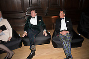 ROBERT WILSON; TORQUHIL IAN CAMPBELL, DUKE OF ARGYLL, Perdurity: A Moving Banquet of Time. Royal Salute curates a timeless evening at Hampton Court Palace with Marcos Lutyens, 2 June 2015.