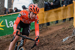 VAN DER HEIJDEN Inge (NED) during Women Elite race, 2019 UCI Cyclo-cross World Cup Heusden-Zolder, Belgium, 26 December 2019.  <br /> <br /> Photo by Pim Nijland / PelotonPhotos.com <br /> <br /> All photos usage must carry mandatory copyright credit (Peloton Photos | Pim Nijland)