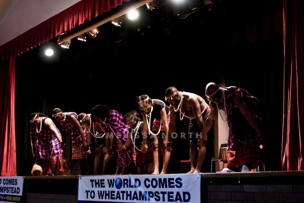 Images from World Comes To Wheathampstead event on 12 June 2011. Featuring Masai & Zula dancers.
