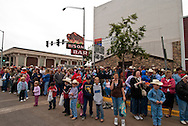 Spectators, Miles City Bucking Horse Sale Parade, Montana