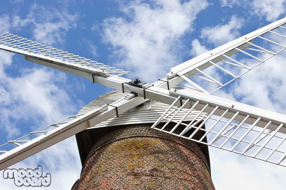 Close-Up of British Windmill