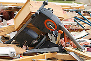 June 06, 2010: An exercise bike sits in the destruction of the home owned by Tim and Debbie Miller after a tornado hits Ottawa County, OhioTornado destruction in Ottawa County, Ohio