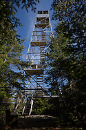 Closeup of Mt. Adams firetower