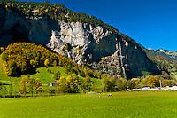 Stechelberg, Lauterbrunnen Valley, Canton Bern, Switzerland