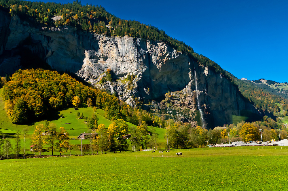 Stechelberg, Lauterbrunnen Valley, Canton Bern, Switzerland