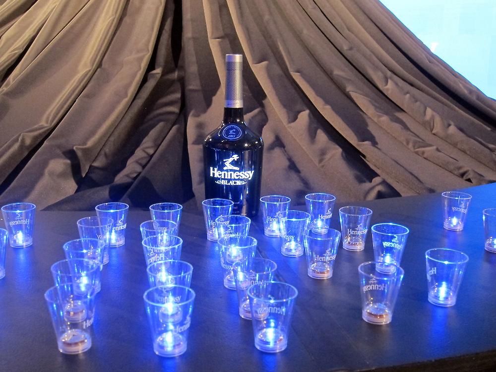 New York City, USS Intrepid, 2011. DJ Cassidy birthday party prep