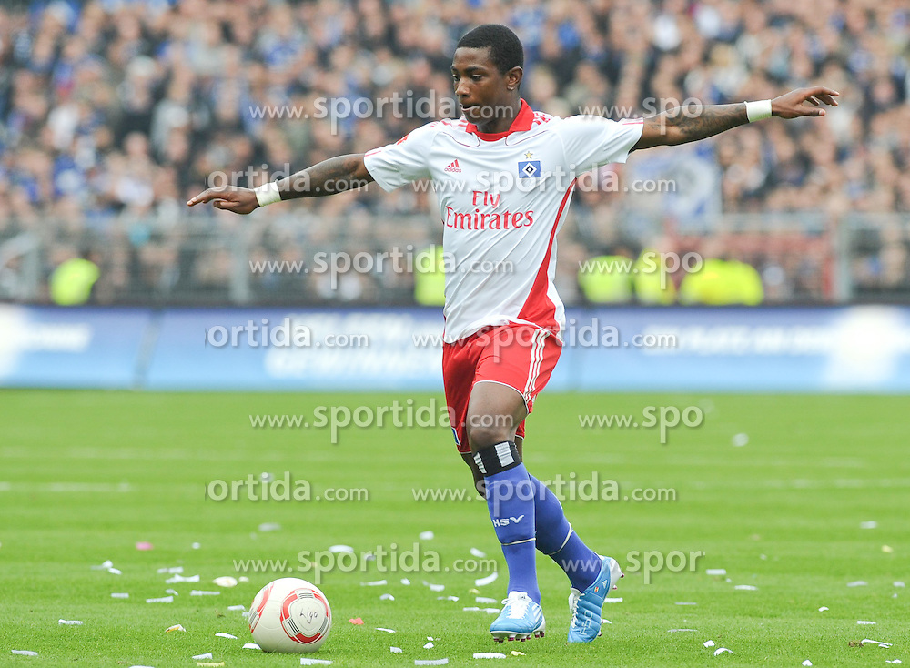 19.09.2010, Millerntor-Stadion, Hamburg, GER, 1. FBL, FC St. Pauli vs Hamburger SV, im Bild Eljero Elia (Hamburg #11)   EXPA Pictures © 2010, PhotoCredit: EXPA/ nph/  Frisch+++++ ATTENTION - OUT OF GER +++++ / SPORTIDA PHOTO AGENCY