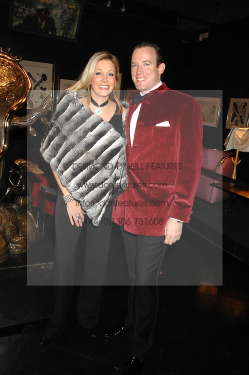 NADJA SWAROVSKI and her husband RUPERT ADAMS at Andy & Patti Wong's Chinese new Year party held at County Hall and Dali Universe, London on 26th January 2008.<br /> <br /> NON EXCLUSIVE - WORLD RIGHTS (EMBARGOED FOR PUBLICATION IN UK MAGAZINES UNTIL 1 MONTH AFTER CREATE DATE AND TIME) www.donfeatures.com  +44 (0) 7092 235465
