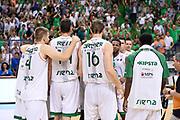 DESCRIZIONE : Campionato 2013/14 Finale GARA 4 Montepaschi Mens Sana Siena - Olimpia EA7 Emporio Armani Milano<br /> GIOCATORE : Team<br /> CATEGORIA : Esultanza<br /> SQUADRA : Montepaschi Siena<br /> EVENTO : LegaBasket Serie A Beko Playoff 2013/2014<br /> GARA : Montepaschi Mens Sana Siena - Olimpia EA7 Emporio Armani Milano<br /> DATA : 21/06/2014<br /> SPORT : Pallacanestro <br /> AUTORE : Agenzia Ciamillo-Castoria / Claudio Atzori<br /> Galleria : LegaBasket Serie A Beko Playoff 2013/2014<br /> Fotonotizia : DESCRIZIONE : Campionato 2013/14 Finale GARA 4 Montepaschi Mens Sana Siena - Olimpia EA7 Emporio Armani Milano<br /> Predefinita :