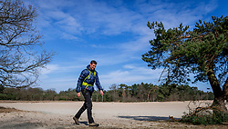18-03-2018 NED: We hike to change diabetes, Soest<br /> Training voor de Camino 2018 op de Soesterduinen / Bas
