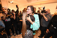 Serena Williams and Alessandra Ambrosio backstage at the Klarna STYLE360 NYFW Hosts S by Serena Fashion Show