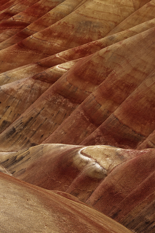Painted Hills, John Day National Monument, landscape photograph