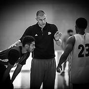 UVU Men's'basketball team practice for the 50 days of instagram promo on the campus of Utah Valley  University in Orem, Utah on Thursday Sept. 22, 2016. (August Miller, UVU Marketing)