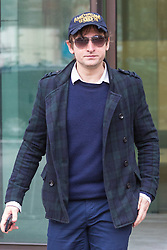 Andrej Uspenski, 38, leaves Westminster Magistrates Court in London following sentencing. The Royal Ballet photographer admitted to charges of harassment without violence after he sent his ex girlfriend Tatjana Novitjenko a sex toy and a picture of her dog 'drowning' during a campaign of harassment that lasted three months. London, February 22 2018.