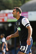 Picture by David Horn/Focus Images Ltd +44 7545 970036.18/08/2012.Chris Barker (Captain) of Southend United looks on during the npower League 2 match at Roots Hall, Southend.