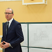 24.04.2017.       <br /> Minister for Housing Simon Coveney visiting the Moyross Community Centre, Limerick announcing funding of &euro;3 million for a refurbishment of the centre​. <br /> <br /> Pictured at the event was Minister for Housing Simon Coveney. Picture: Alan Place.