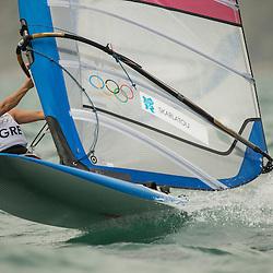 2012 Olympic Games London / Weymouth<br /> RSX women racing day 1<br /> RS:X WomenGRESkarlatou Angeliki
