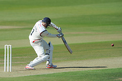 Glen Chapple of Lancashire bats - Photo mandatory by-line: Dougie Allward/JMP - Mobile: 07966 386802 - 07/06/2015 - SPORT - Football - Bristol - County Ground - Gloucestershire Cricket v Lancashire Cricket - LV= County Championship
