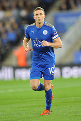 ANDY KING LEICESTER CITY, Leicester City v Leeds United EFL League Carabao Cup  Fourth Round, King Power Stadium Tuesday 24th October 2017, Score 2-1, Photo:Mike Capps
