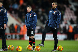 Lewis Grabban of Bournemouth warms up - Mandatory by-line: Jason Brown/JMP - Mobile 07966 386802 12/01/2016 - SPORT - FOOTBALL - Bournemouth, Vitality Stadium - AFC Bournemouth v West Ham United - Barclays Premier League