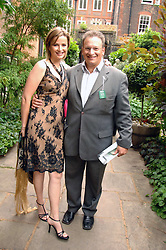 P Y GERBEAU and his wife  TV presenter KATE SANDERSON at the 20th annual House of Lords v House of Commons Tug of War in aid of Macmillan Cancer Support held on Abingdon Green, Westminster, London on 13th June 2007.<br /><br />NON EXCLUSIVE - WORLD RIGHTS