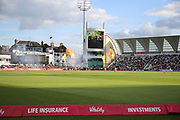 *** during the Vitality T20 Blast North Group match between Nottinghamshire County Cricket Club and Worcestershire County Cricket Club at Trent Bridge, West Bridgford, United Kingdon on 18 July 2019.