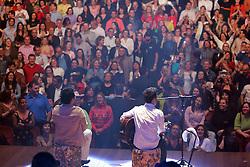 Show da dupla sertaneja Zeze di Camargo e Luciano em Porto Alegre. Indicado este ano para concorrer ao Oscar, o filme - 2 Filhos de Francisco – A História de Zezé Di Camargo e Luciano ultrapassou a marca de 2,6 milhões de espectadores e já é o quarto filme mais assistido em 2005 no Brasil. FOTO: Jefferson Bernardes/Preview.com