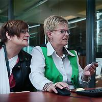 Nederland, Heerlen, {date}. Foto Jean-Pierre Jans<br /> Ponskaartjes verdwijnen in Atrium ziekenhuis.<br /> Patientgegevens worden digitaal ingevoerd volgens het nieuwe systeem. <br /> <br /> <br /> Foto Jean-Pierre Jans