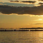 När kyrkbåtarna sakta kom glidande på Siljan, en efter en efter en, tystnade publiken på stranden i andäktig beundran