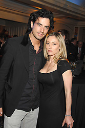 Actor ANTONIO CUPO and DINA GRUNDY at the Veuve Clicquot Business Woman Award held at The Berkeley Hotel, London on 8th April 2008.<br />