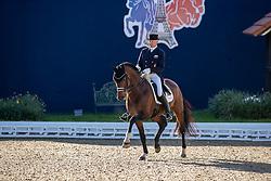 SCHMIDT Hubertus (GER), Escolar<br /> Hagen - Horses and Dreams 2019<br /> Grand Prix de Dressage CDI4* Special Tour<br /> 27. April 2019<br /> © www.sportfotos-lafrentz.de/Stefan Lafrentz