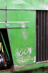 "04 May 2013:   Arranged to coincide and be a part of the Red Corridor Route 66 festival, the village of Lexington hosts an antique tractor show.  Roger Whaley is the chairman of the organizing committee.  1955 John Deere model 60 - affectionately named ""Florence""."